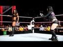 WWE Raw, AJ Lee VS Alicia Fox Con Paige in the Comments, Español - Latino