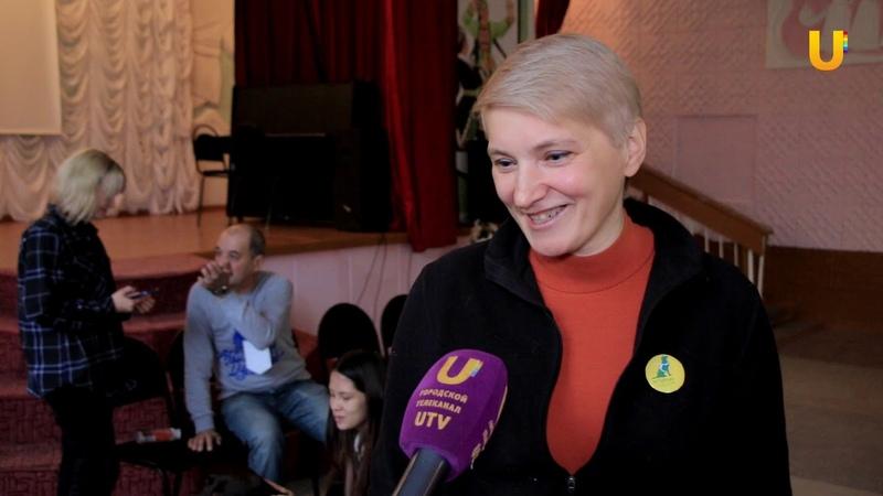 Новости UTV. Школьники познакомились с работой собаки проводника