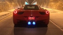 LOUDEST Ferrari 458 in the world!! Headphone users beware INSANE TUNNEL ACCELERATIONS!