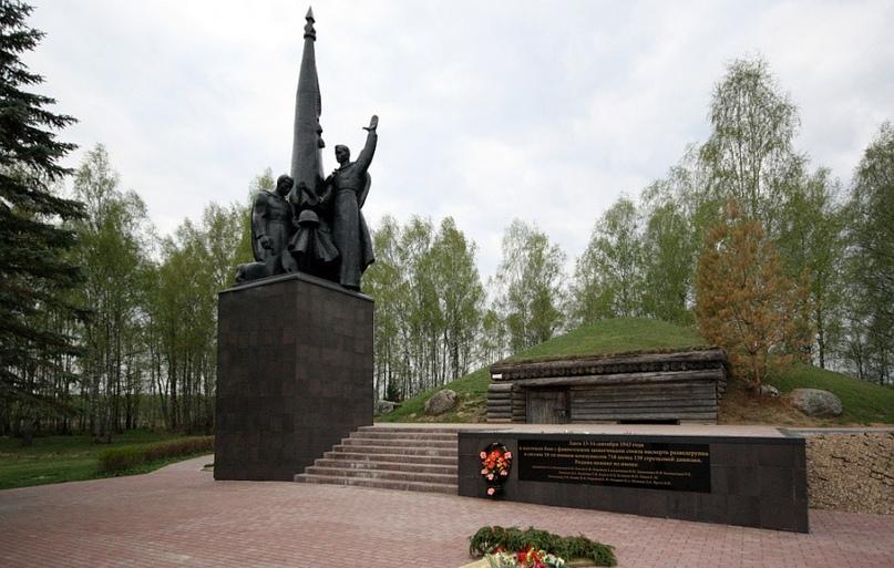 18 советских солдат 8-й роты 718 полка 139-й стрелковой дивизии 10-й армии Запад...