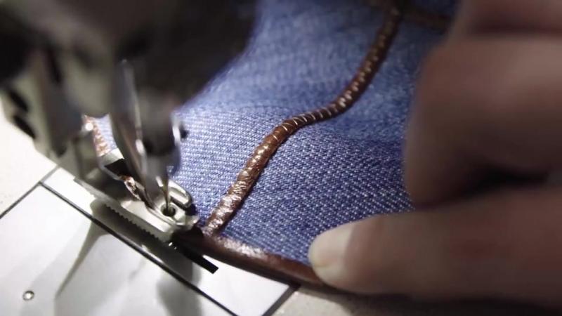 David Roytman Luxury Judaica - Kippah clasic jeans by David Roytman