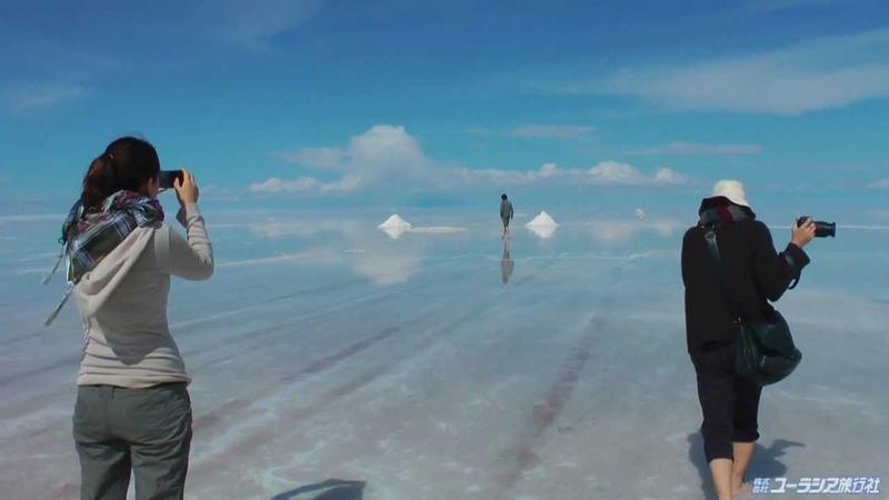 -HD-天空の鏡、ウユニ塩湖(ボリビア)-Uyuni,Bolivia-
