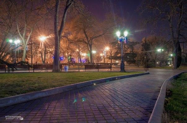 Вечерний Севастополь. Автор фото В.Россохацкий #севастополь@pro_sevas