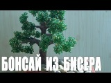 Дерево из бисера бонсай мастер-класс - Видео урок для начинающих.