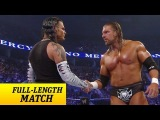 FULL-LENGTH MATCH - No Mercy 2008 - Triple H vs. Jeff Hardy - WWE Championship Match