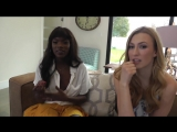 Does size matter to adult film stars Ana Foxxx and Alexa Grace