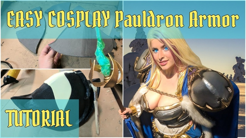 How to make COSPLAY PAULDRONS Shoulder Armor