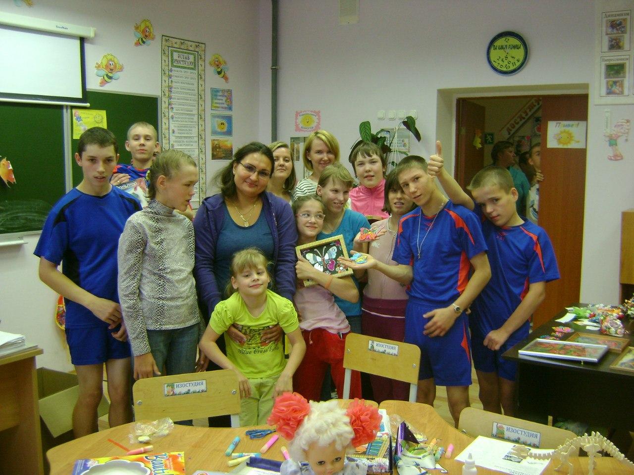 Осенний визит в Первомайский детский дом
