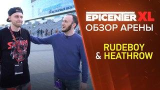 Обзор арены от Александра Хитрова и Rudeboy @ EPICENTER XL