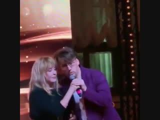 Алла Пугачёва и Максим Галкин на дне рождения Ирины Муравьёвой (18.02.2019)