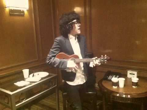 LP Rehearsing Into The Wild UNICEF Event