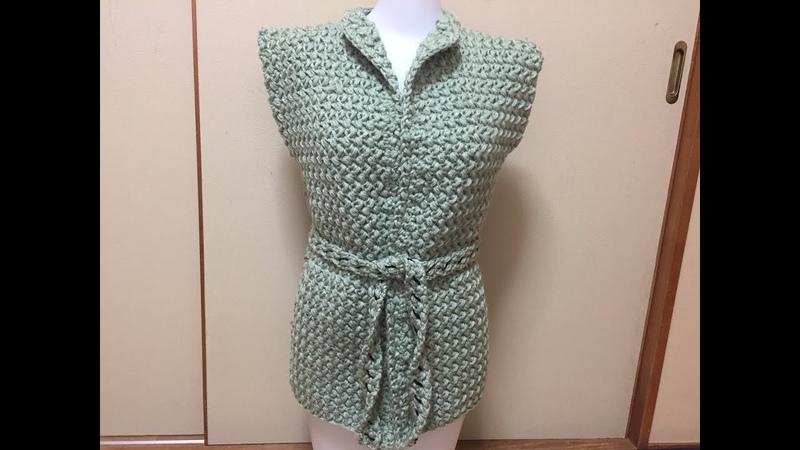 Crochet The Most Easiest Vest Tutorial | Beginner Level