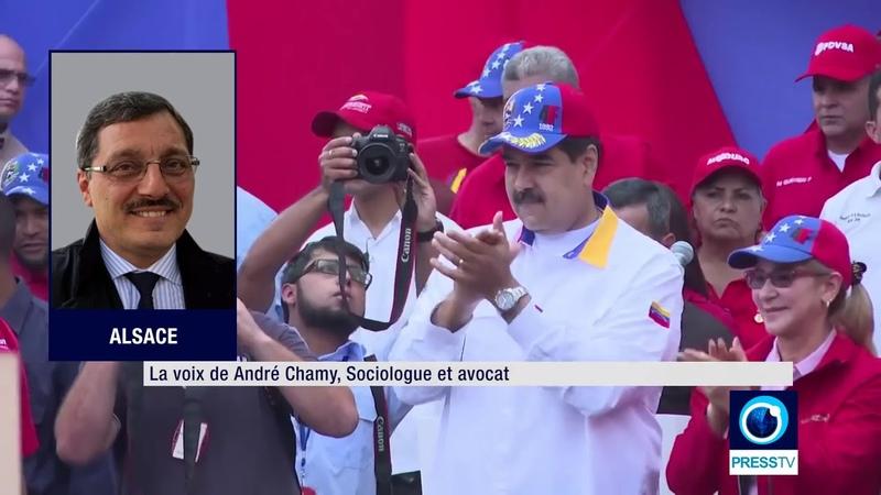 PressTV / Venezuela : l'Axe de la Résistance entre en action, rencontre avec al-Assad (6.04.2019)