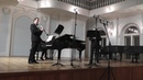 M.Mangani Concert Piece for Two Clarinets and Piano