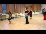 danse orientale salsa avec Yzza
