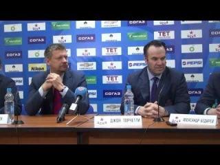 Последняя пресс-конференция после серии СКА - ЦСКА (4-0)