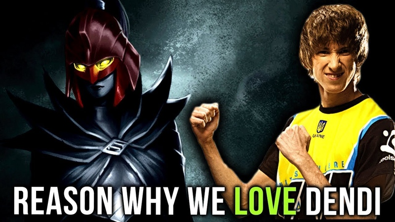 Reason Why We Love The Most Adorable Player in Dota 2 - Dendi Gameplay Compilation