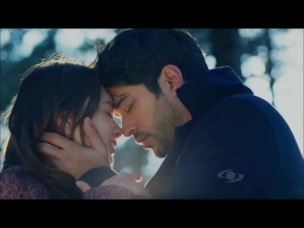 Kara Sevda - Amor eterno - Kemal y Nihan beso en el bosque - Burak Ozcivit Neslihan Atagul