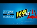 Na`Vi vs AVANGAR - IEM Season XIII - Katowice Major 2019 - map1 - de_dust2 [sl4m tafa]