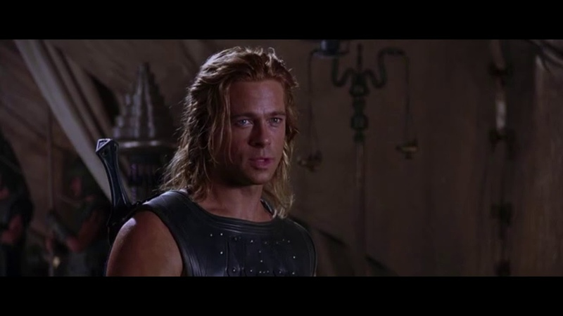 Троя Troy 2004 Ахиллес и Агамемнон
