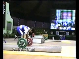 10.1994 (�-83) European Weightlifting to 20 years