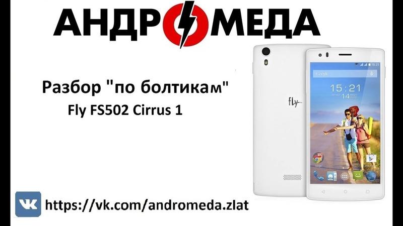 Разбор По Болтикам Fly FS502 Cirrus 1