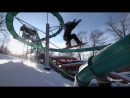 Snowboarding in an Empty Waterpark Xtreme CollXtion