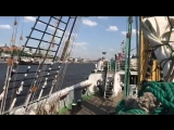 Крузенштерн прибывает в порт Гамбурга. Экспедиция с группой Tequilajazzz
