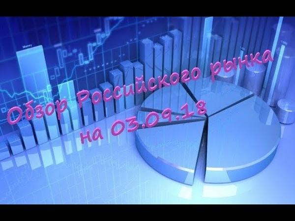 Обзор Российского срочного рынка на на 3 09