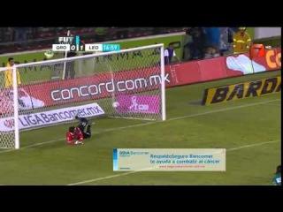 Queretaro vs Leon 1-2 | Jornada 12 | Liga Bancomer MX Apertura 2014
