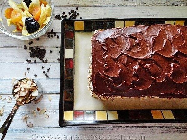 """Итальянский торт """"Кассата"""""""