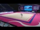 Полина Шматко булавы командное многоборье Международный турнир юниорок Холон,Израиль 2018