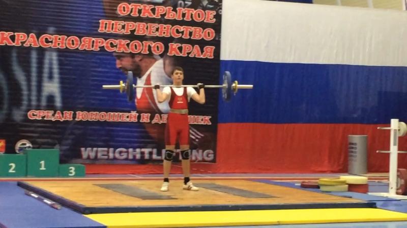 Пётр Никитин,толчок 73 кг