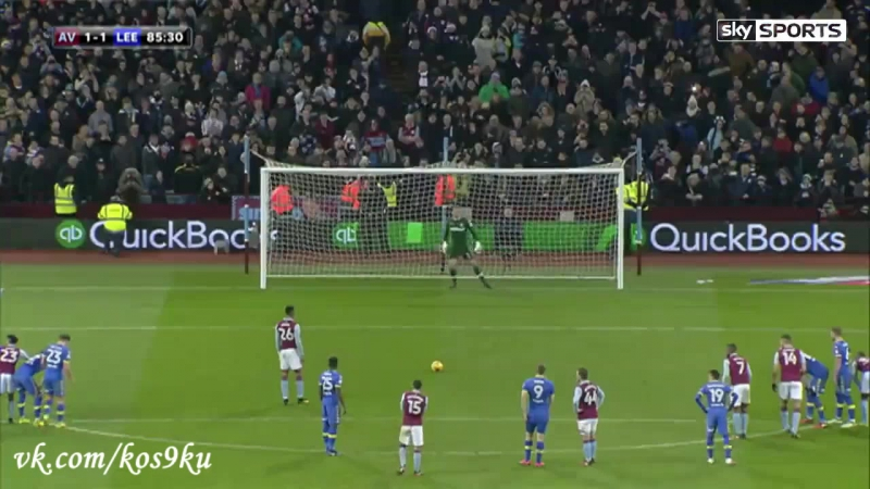 Астон Вилла 1-1 Лидс, Жонатан Коджиа (пенальти) │ Aston Villa 1-1 Leeds