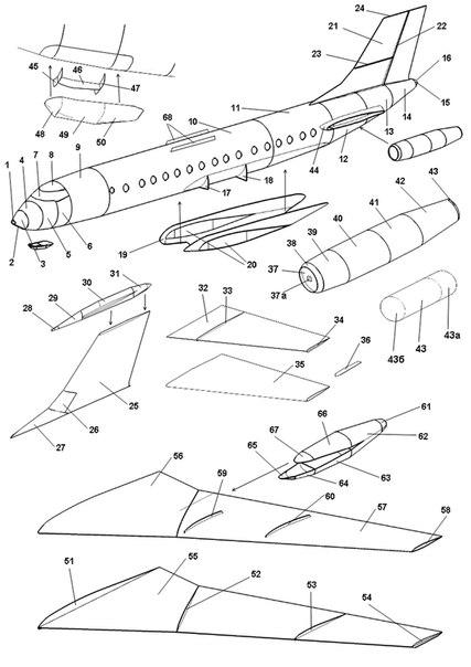 объемные модели самолетов,