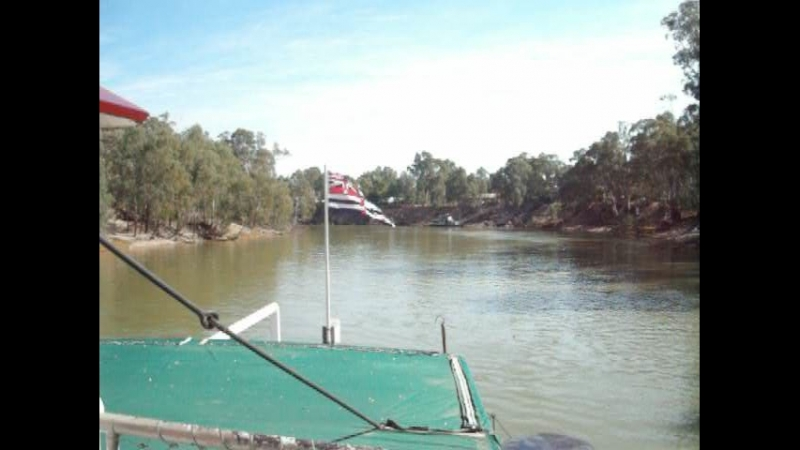 Pevensey Melbourne Paddle Steamer on Murray River 6, Victoria, Australia