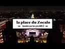 2 minutes de la place du Zocalo, au Mexique, vue du ciel après la victoire de Lopez Obrador