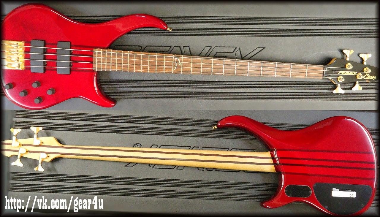 Peavey Cirrus 4 & 6 RUBY RED USA Custom