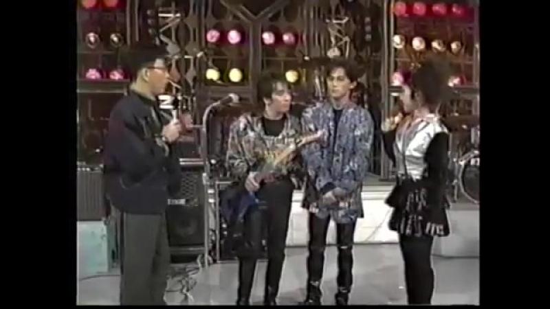 Bz - [夜のヒットスタジオ 1989.12.15]2.BAD COMMUNICATION (トークあり)