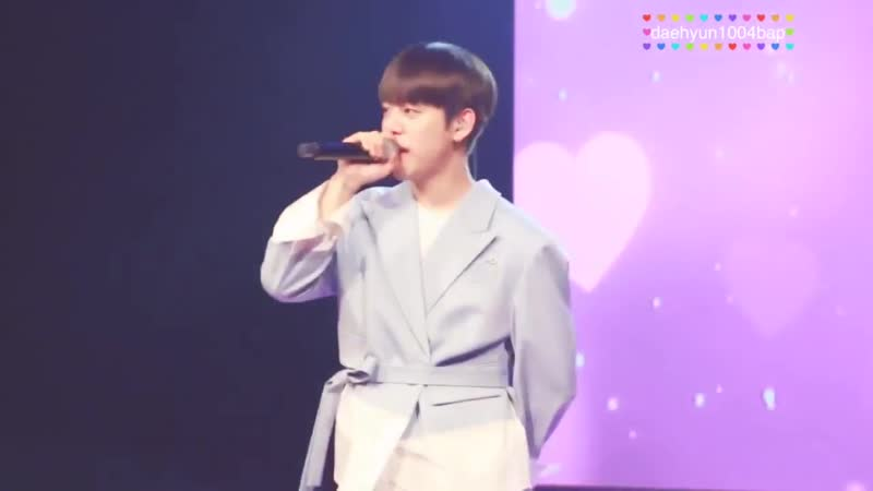 FANCAM 22 06 19 Daehyun Birthday Party