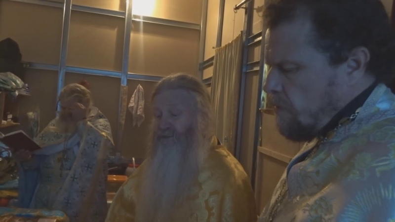 Иеромонах Варфоломей с острова Валаам отслужил в с.Копёнки 24-25 ноября 2018г