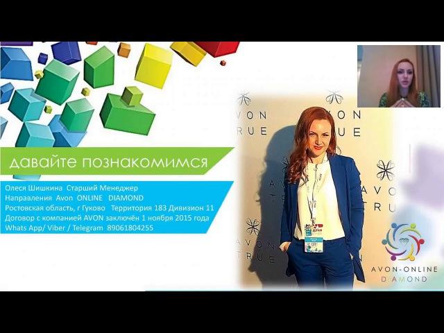 Презентация возможнойстей с AVON.Знайте правдуДумайте самиМенеджер Олеся Шиш ...