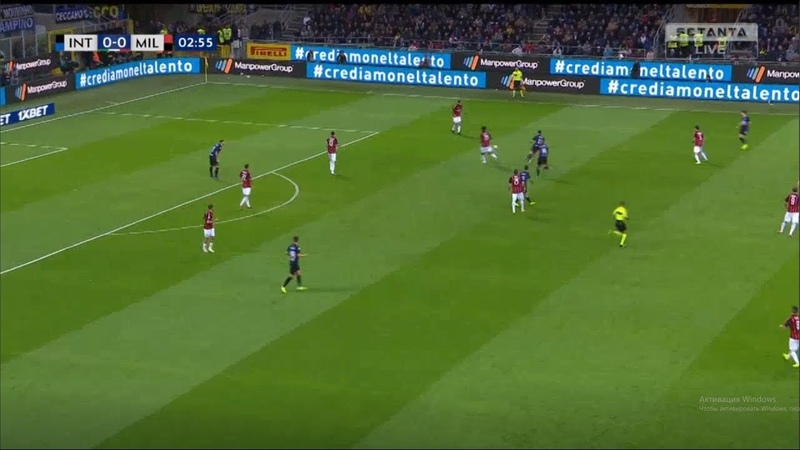 Inter vs Milan 0-0 Highlights ( 1 half ) 21/10/2018 HD