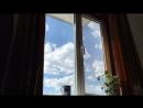 Белое облако, Голубое небо