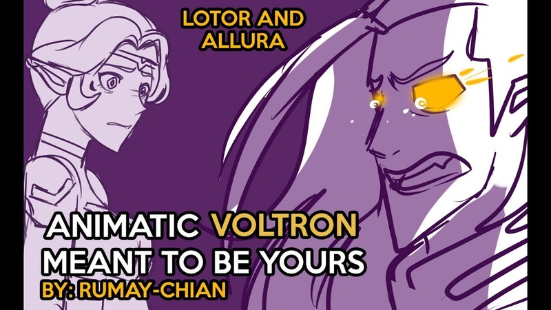 【ANIMATIC】MEANT TO BE YOURS - Crossover (Voltron Heathers)