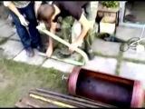 Мангал Барбекю из газового баллона своими руками