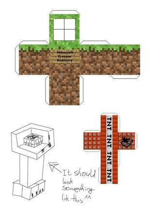 Minecraft и копатель онлай из