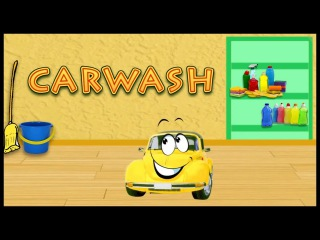 Cartoon Car Wash for Children: Toy Car Beep Beep! Educational Videos for kids