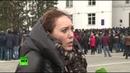 Участница митинга в Кемерове опровергла слухи о числе жертв трагедии в ТЦ «Зимняя вишня»