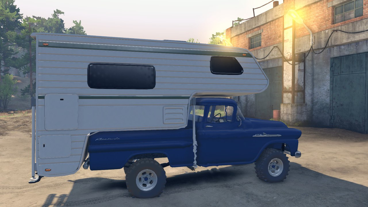 1959 Chevrolet Apache Fleetside V1.0 для Spintires - Скриншот 3